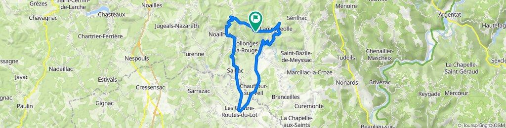 2021 fietstocht X - met Jolanda - trainings rondje