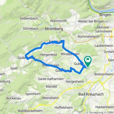 Guldental Naheweinstraßen 30km