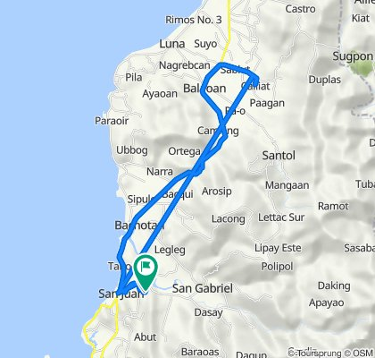 Unnamed Road, San Juan to Unnamed Road, San Juan