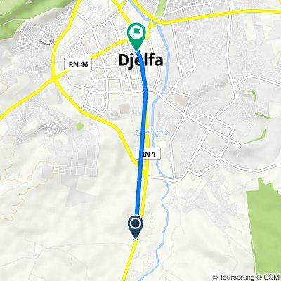 De N1, Djelfa à Unnamed Road, Djelfa - جـلـفـة