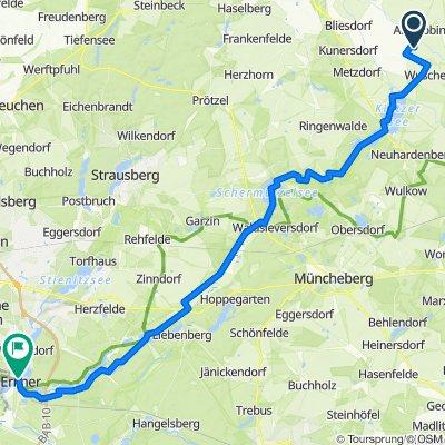 Neutrebbin-Märkische Schweiz - Erkner