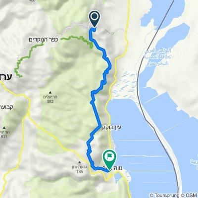 שביל ישראל באופניים - מקטע מצדה נווה זוהר