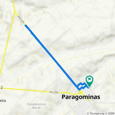 De Alameda Mário Covas, Paragominas a Alameda Mário Covas, Paragominas