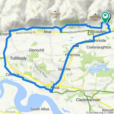 clacks cycle path loop