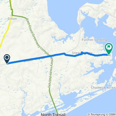 1339–1345 NC-172, Holly Ridge to 621 Peru Rd, Sneads Ferry