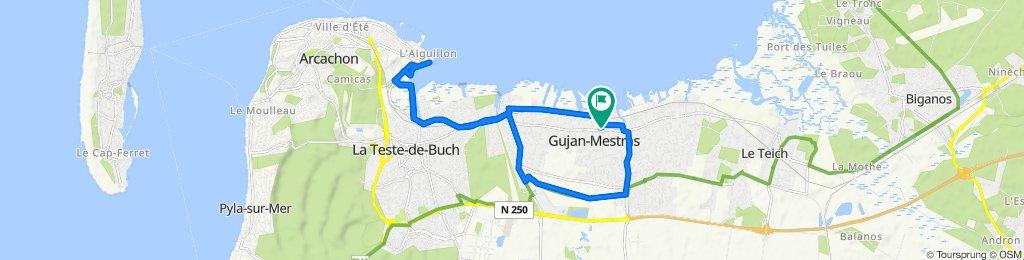 De Rue du Château 10, Gujan-Mestras à Rue du Château 10, Gujan-Mestras