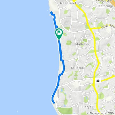 Tourist Drive 204 106, Mullaloo to Tourist Drive 204 106, Mullaloo