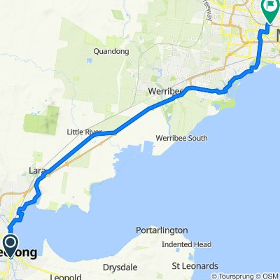 Sth Geelong to Wefo