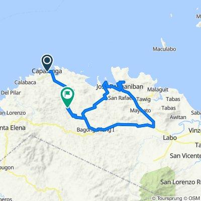 Rizal, Capalonga to Bagong Silang - Capalonga Road