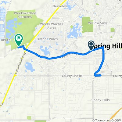 Spring Hill Drive 10231 to Osowaw Boulevard 2345, Spring Hill