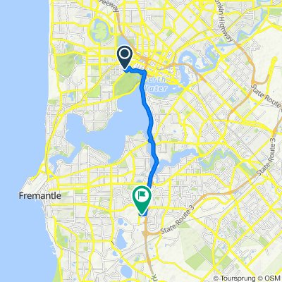 17 Kings Road, Subiaco to 1–21 Robin Warren Drive, Murdoch