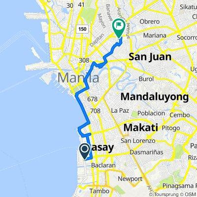 Pasay to Lopez Jaena 53, Quezon City
