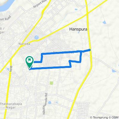 Krishnanagar, Ahmedabad to Krishnanagar, Ahmedabad