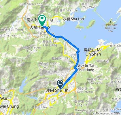 Major Cycle Track of Sha Tin District, Sha Tin to 6 On Pong Road, Tai Wo