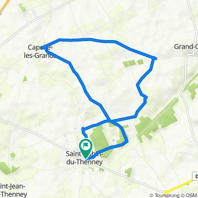 De 41A Le Village, Saint-Aubin-du-Thenney à 2P Le Village, Saint-Aubin-du-Thenney