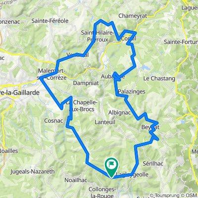 2021 vakantie rit 4 - met Jolanda - Dordogne 2