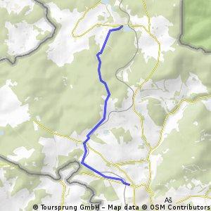 Aš - Studánka (ski)