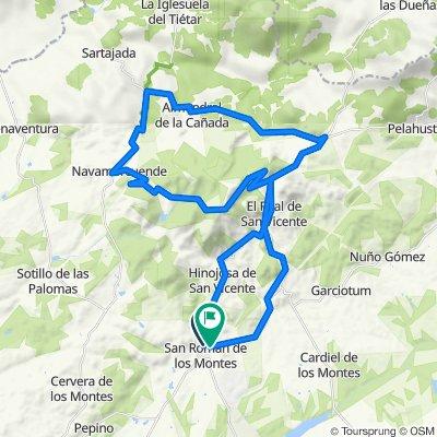 San roman de los Montes-Almendral de la Cañada