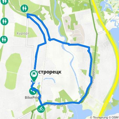 От Малая Канонерская улица 6, Санкт-Петербург до Малая Канонерская улица 3, Санкт-Петербург