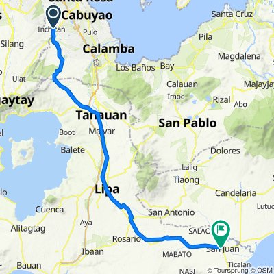 Route to Rosario-San Juan Road, San Juan