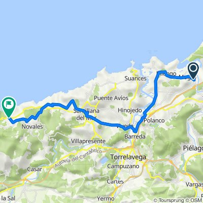 10.05.2018 Mogro - Cobreces (32,3 km)