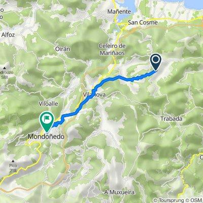 23.05.2018 Vilamartin grande - Mondonedo (18,4 km)