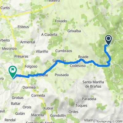 28.05.2018 O Roxica - Boimorto (27,1 km)