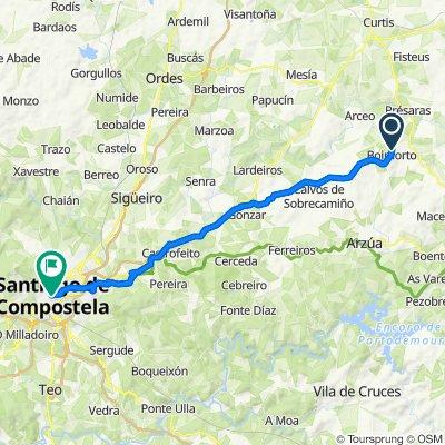 29.05.2018 Boimorto - Santiago de Compostela (45,9 km)