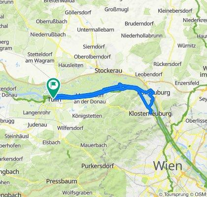 Runde nach Klosterneuburg