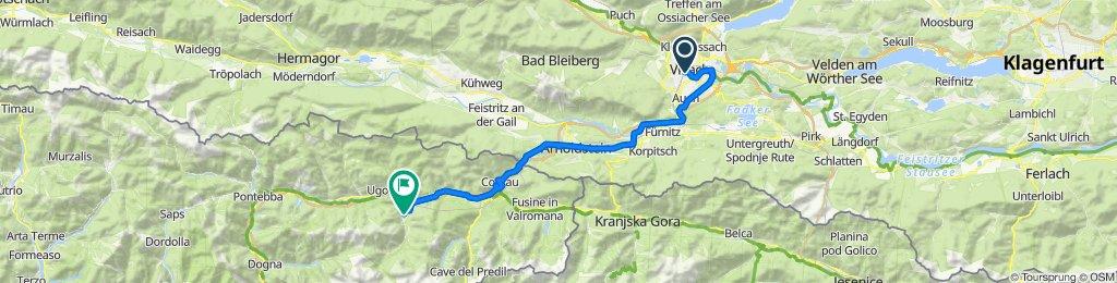Villach - Valbruna