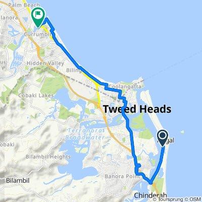 61–63 Fingal Road, Fingal Head to 72 Duringan Street, Currumbin