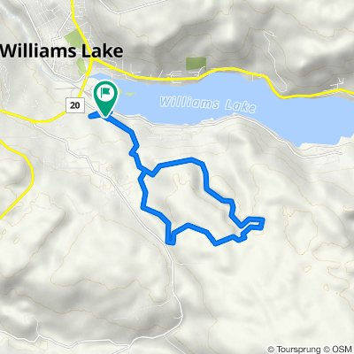 Williams Lake Cycling