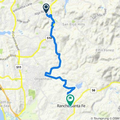 6751 Xana Way, Carlsbad to 5901–6025 Paseo Delicias, Rancho Santa Fe
