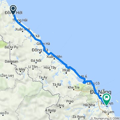 From Dong Hoi to Hoi An with Phong Nha Private Car