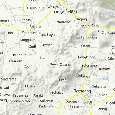 Unnamed Road, Tarogong Kidul to Sasak Koneng Cukang Ibun