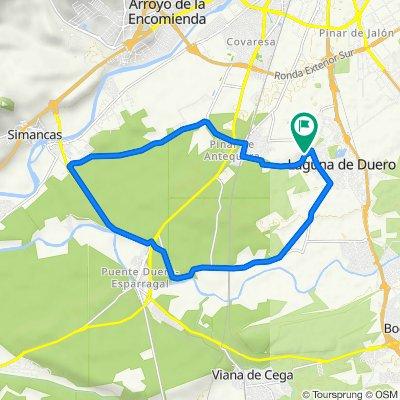 De Calle Hornijos, 1–7, Laguna de Duero a Calle Hornijos, 5, Laguna de Duero