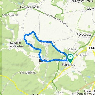 parcours 15 kilomètres