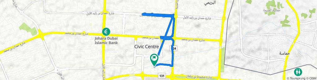 Emirates ID Authority, Al Ain to Emirates ID Authority, Al Ain