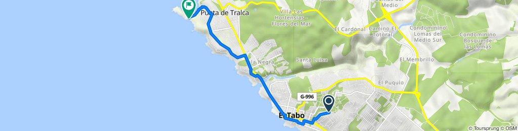 De Las Lianas 1130, El Tabo a Avenida Central, Isla Negra