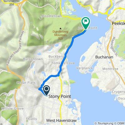 146 NY-210, Stony Point to 1–37 Old Rte 9W, Tomkins Cove