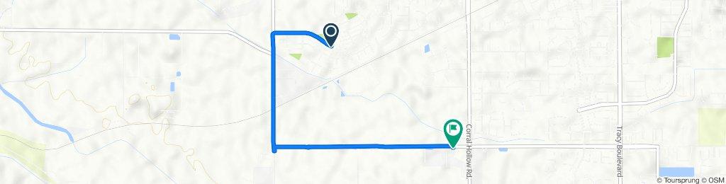 2900–2932 Redbridge Rd, Tracy to 12276–12398 W Valpico Rd, Tracy