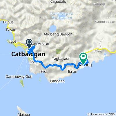 6th Street 230, Catbalogan City to Pan-Philippine Highway, Jiabong