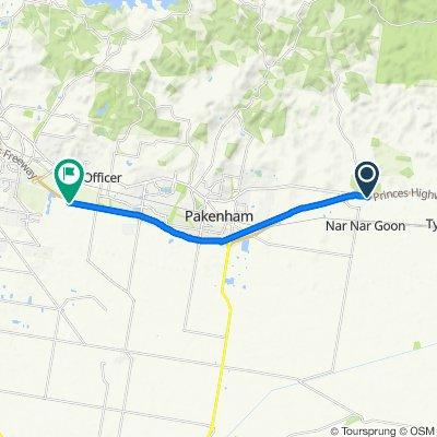 Princes Highway, Nar Nar Goon to 94 Princes Freeway, Officer