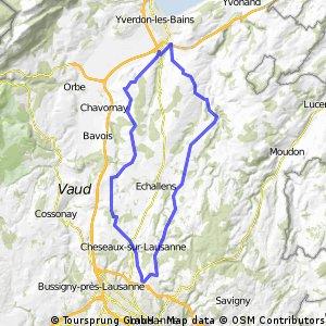59km: Eclagnens - Belmont - Bercher