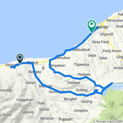 Jalan Raya Gili Manuk - Seririt, Seririt to Jalan Ahmad Yani, Buleleng