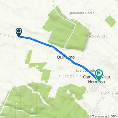 De Cruce Ruta 5 (Parral) - San Pablo, Retiro a Cruce Ruta 5 (Parral) - San Pablo, Retiro