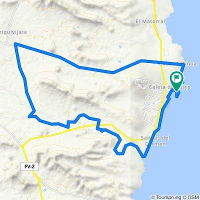 Fuerteventura-Rundtour: Barranco de la Torre