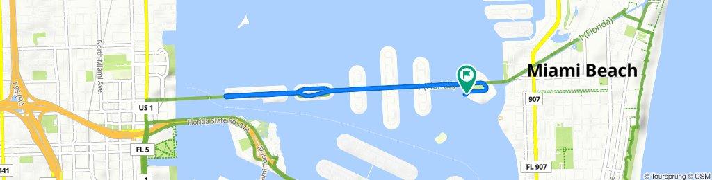 5 Island Ave W, Miami Beach to 5 Island Ave W, Miami Beach