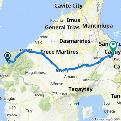 Kaybiang Tunnel, Maragondon to Villa Susana 3, Santa Rosa