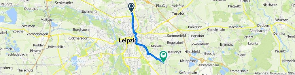 Delitzscher Straße, Leipzig nach Christian-Grunert-Straße 1, Leipzig
